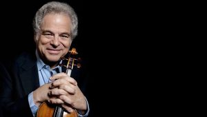 Itzhak Perlman comes to Lyric for a matinee April 23, 2017. Photo by Lisa Marie Mazzucco