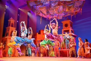'Aladdin' at the Cadillac Theatre. Deen vanMeer Photo