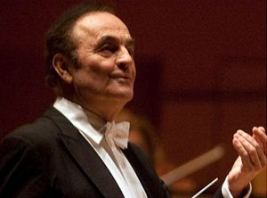 Dutoit guest conductor at CSO. Photo compliments of CSO