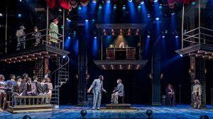 Cast of 'Chicago' at Drury Lane Theatre, photo by Brett Beiner