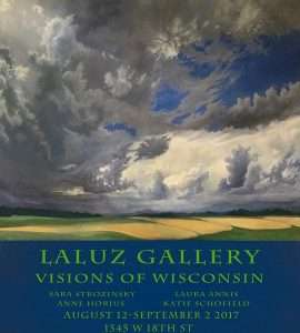 Four Wisconsin artists are featured in newest LALUZ Gallery show.