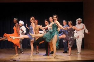 Cast of 'The Drowsy Chaperone' at Skokie Theatre. MadKap Productions photo