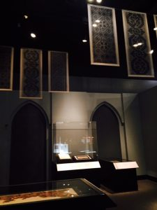 """Coptic materials at the end of """"Ancient Mediterranean Cultures in contact"""" exhibit at the Field Museum"""