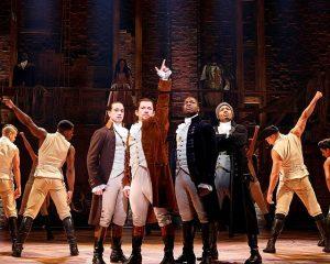 Cast of 'Hamilton'. Photo by Joan Marcus.
