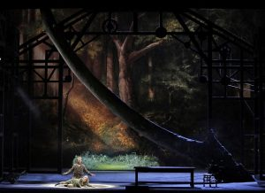 Brandon Jovanovich and Elisabet Strid in Lyric Opera's Die Walkure. Photos b Cory Weaver.