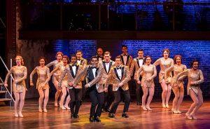 Cast of 42nd Street at Drury Lane Theatre. Photo by Brett Beiner