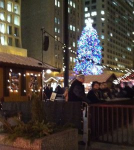 Christkindlemarket at Daley Plaza. Jodie Jacobs photo