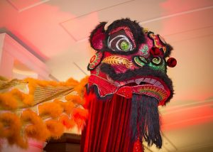 Lion dancers will be prancing through some Chicago restaurants and at parades during Chinese New Year. Peninsula photo