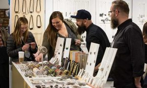 Visitors look for gifts for themselves, friends and family at the One of a Kind Spring Show. A One of a Kind Show photo