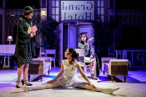 (From left) Rachel Whyte, Michelle Jasso and Jenny McPherson in Kokanday Production's 'Grand Hotel.'