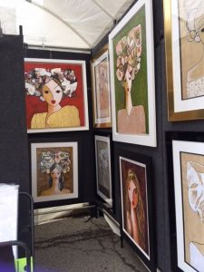 The works of Roy and Vivian Rodriguez can be seen at several Chicago area art festivals.