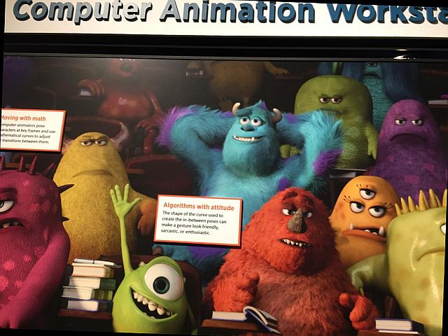 Find out about how the characters, objects and scenery are created in Pixar movies. (Jodie Jacobs photos)