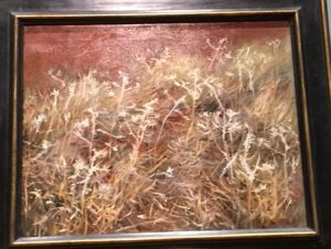 John Singer Sargent, 'Thistles' is in the Art Institute of Chicago Show. (Photos by Jacobs)