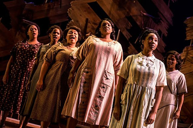 The Color Purple at the Auditorium Theatre. (Photo by Matthew Murphy)