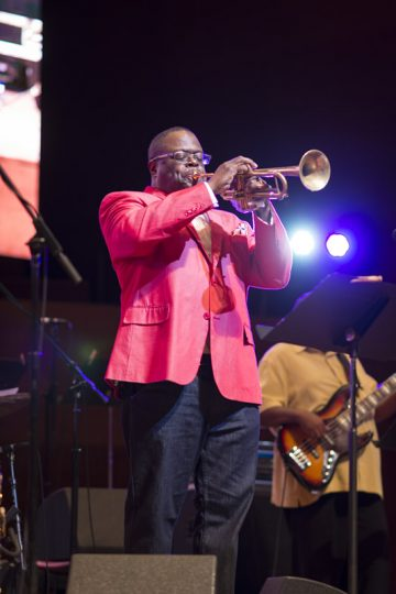 Orbert Davis Chicago Jazz Philharmonic is among the headliners at the Chicago Jazz Festival. (Chicago Dept. of Cultural Affairs and Special events/Orbert Davis photo)