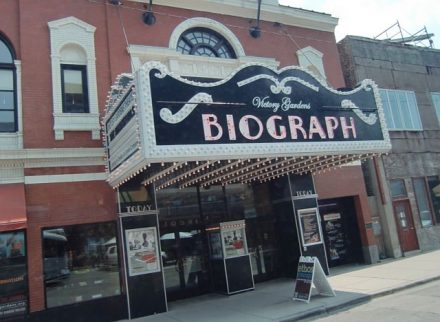 Victory Gardens-Biograph is also on aChicago film tour for the place where a famous gangster met his end. (Photo by Jodie Jacobs)