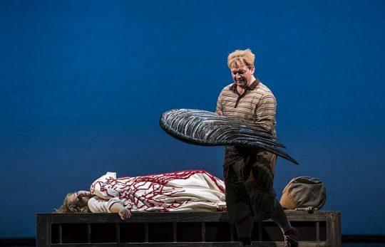 Christine Goerke (Brunnhilde and Burkhard Fritz (Siegfried)