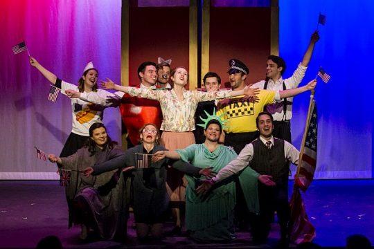 Underscore Theatre Ensemble, Brook Astor's Last Affair. (Photos by Jesus Ricca)