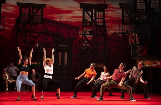 Touring company of 'A Bronx Tale' (Photo courtesy of Broadway in Chicago)