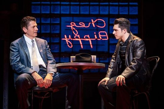 Joe Barbara and Joey Barreiro in 'A Bronx Tale'. (Photo courtesy of Broadway in Chicago)