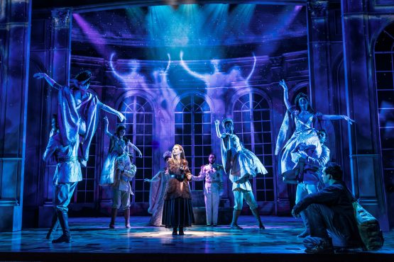 Lila Coogan (Anya) in Anastasia (Photo courtesy of Broadway in chicago