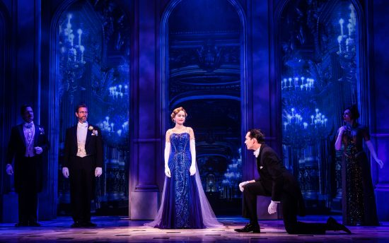 Lila Coogan (Anya), Stephen Brower (Dmitry) (Photo courtesy of Broadway In chicago)