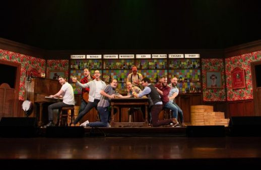 Choir of Man at Broadway In Chicago Playhouse. (Photo courtesy of Broadway in Chicago)