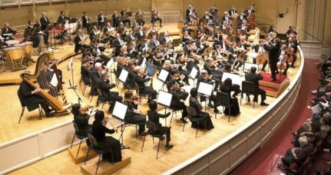 The Chicago Symphony Orchestra. (A CSO photo)