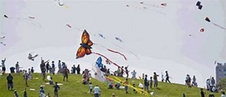 Annual Chicago Kids and Kites Festival. (Photo courtesy City of Chicago)