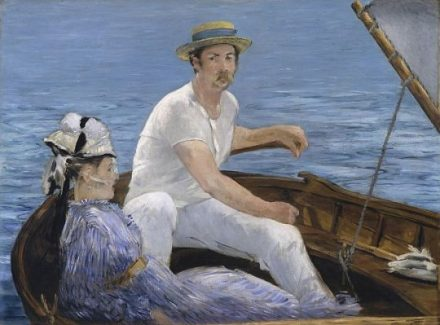 Édouard Manet. Boating, 1874–75. The Metropolitan Museum of Art, New York, H. O. Havemeyer Collection, Bequest of Mrs. H. O. Havemeyer, 1929. (Photo courtesy of Art Institute of Chicago)