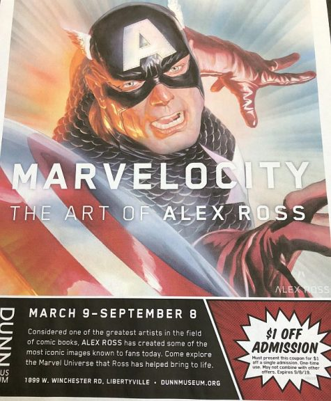 Poster for Marvelocity. (J Jacobs of the Lake County Forest Preserves Dunn Museum photo)