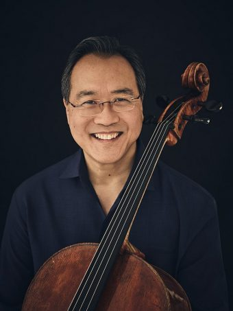 Yo Yo Ma will be in Chicago June 20-21 with Bach Project and Day of Action. (Photo courtesy of CSOA