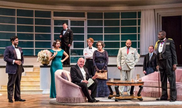 Cast of 'And Then There Were None' at Drury Lane Theatre. (Brett Beiner photo)