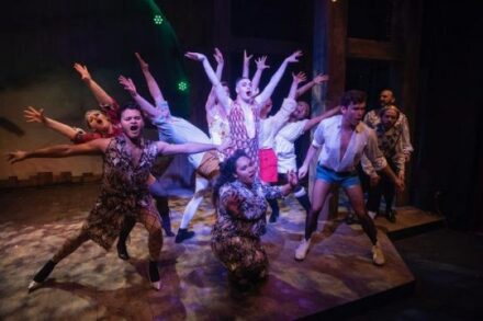Cast of 'Head Over Heels,' a Kokandy Productions show at Theater Wit. (Photo by Michael Brosilow)