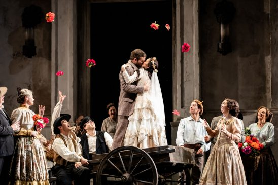 Brandon Cedel and Ying Fang in Don Giovanni at Lyric Opera of Chicago. (Kyle Flubacker photo)