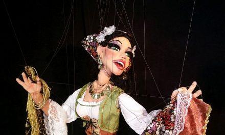 Huber Marionettes Gypsy Dancer. (Photo courtesy of Huber Marionettes)