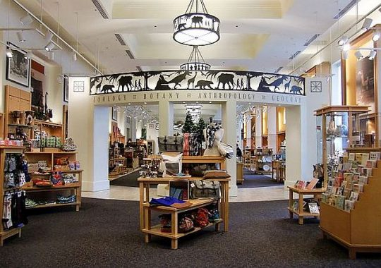 It's fun to explore the different rooms and sections of the Field Museum Shop. (J Jacobs photo)