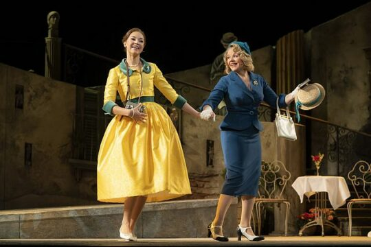 Solea Pfeiffer and Renée Fleming in LThe Light in the Piazza. (Liz Lauren photo)