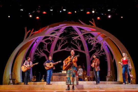 """Almost Heaven: John Denver's America"" at Theatre at the Center, Munster, IN, Photo by Guy Rhodes"