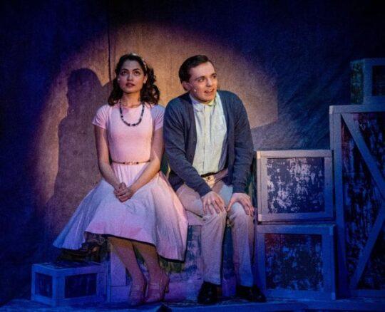anepacker) and Matt (Jonah Cochin) in The Fantasticks at Citadel theatre. (North Shore Camera Club photo)