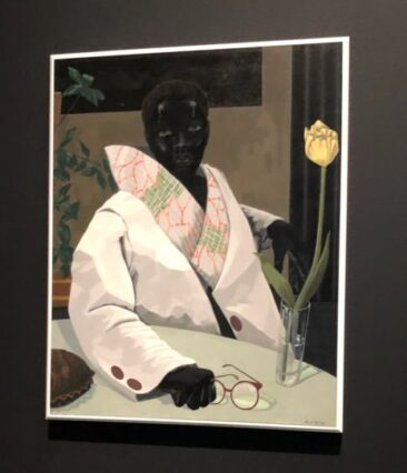 Kerry James Marshall, Portrait of a Curator (In memory of Beryl Wright) 2009. (J Jacobs photo)