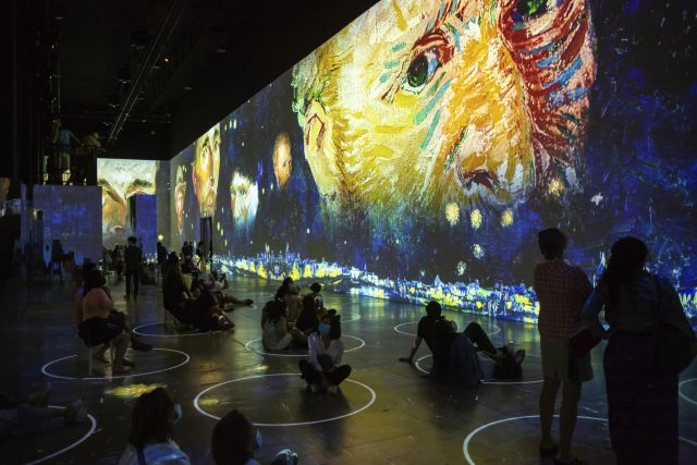 Immersive Van Gogh Exhibition (Photo courtesy of Immersive Van Gogh)