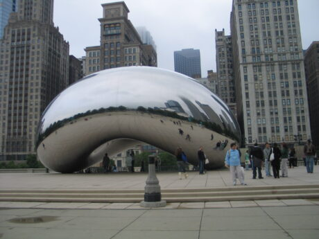 Cloud Gate in Millennium Park (J Jacobs photo)