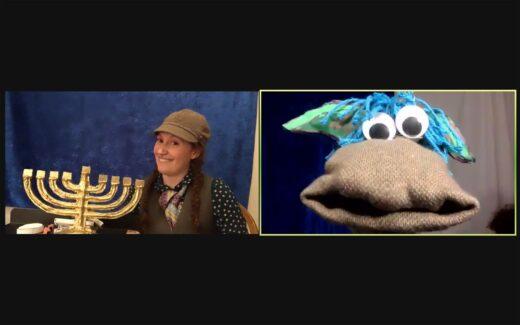 Hershel and the Hanukkah Goblins (Phot0 courtesy of Strawdog Theatre Company)