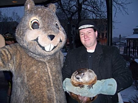 Woodstock groundhog celebration