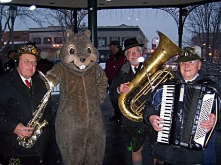 Groundhog day in Woodstock,