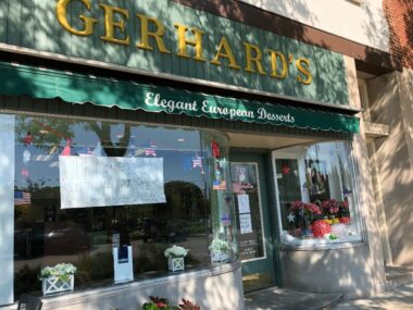 It's hard to leave Gerhard's, a European bakery in Lake Forest with just one treat. (J Jacobs photo)