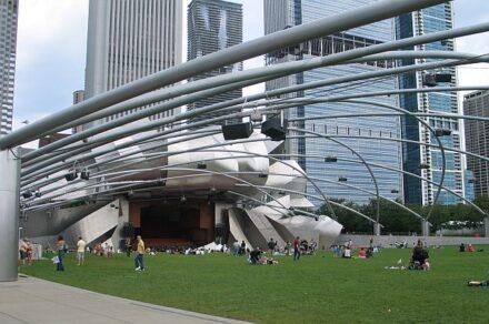 Grant Park Festival will be at the P:ritzker Pavilion. (J Jacobs photo)