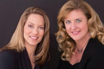 The P:erformer's School founders Stacey Flaster and Liz Fauntleroy,