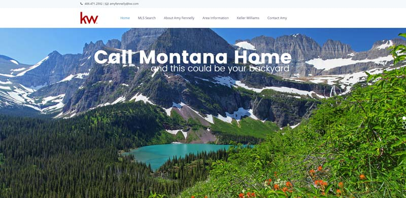 call montana home real estate screenshot